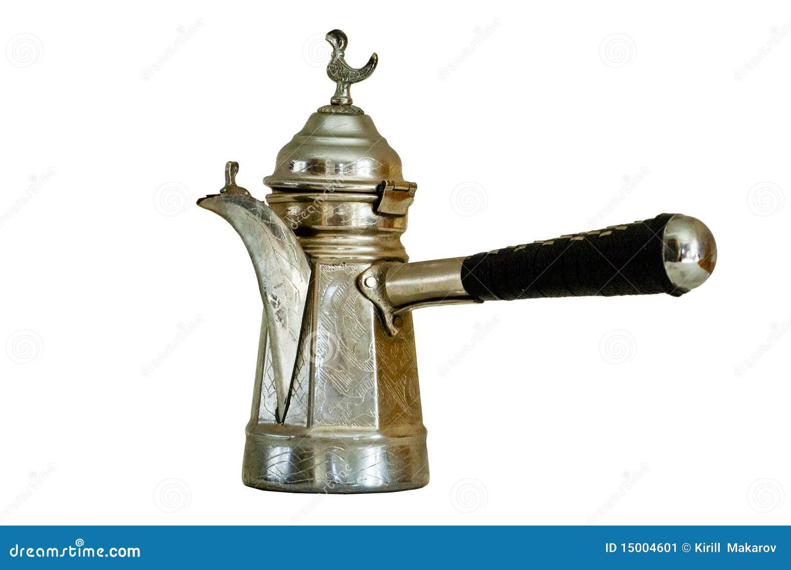 Turkish Coffee Pot Stock Image Image 15004601