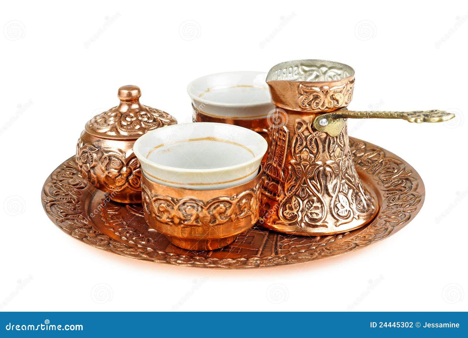 Turkish Coffee Set Stock Photo Image Of Food Aromatic