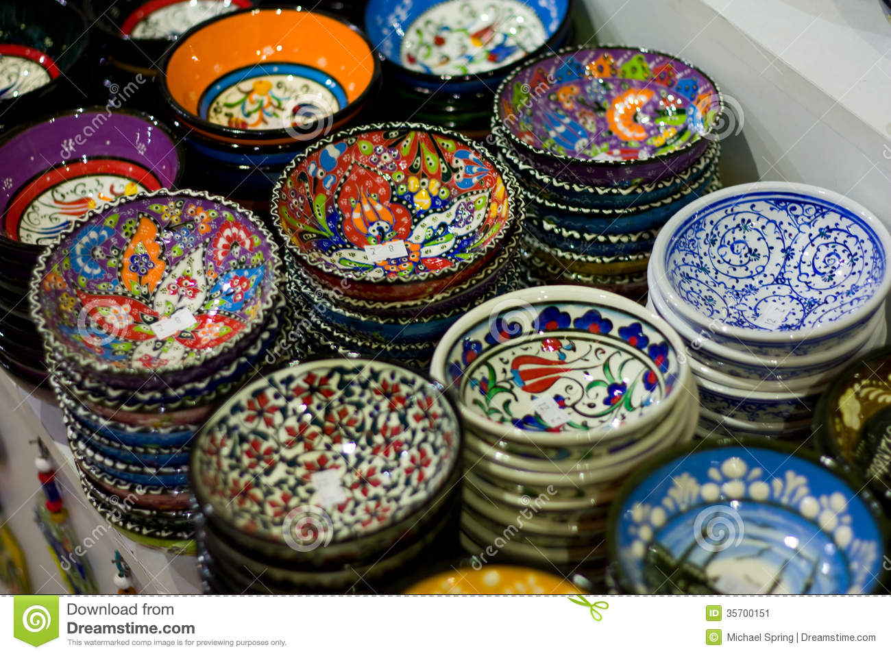 Turkish crafts stock image image 35700151 for Turkey country arts and crafts