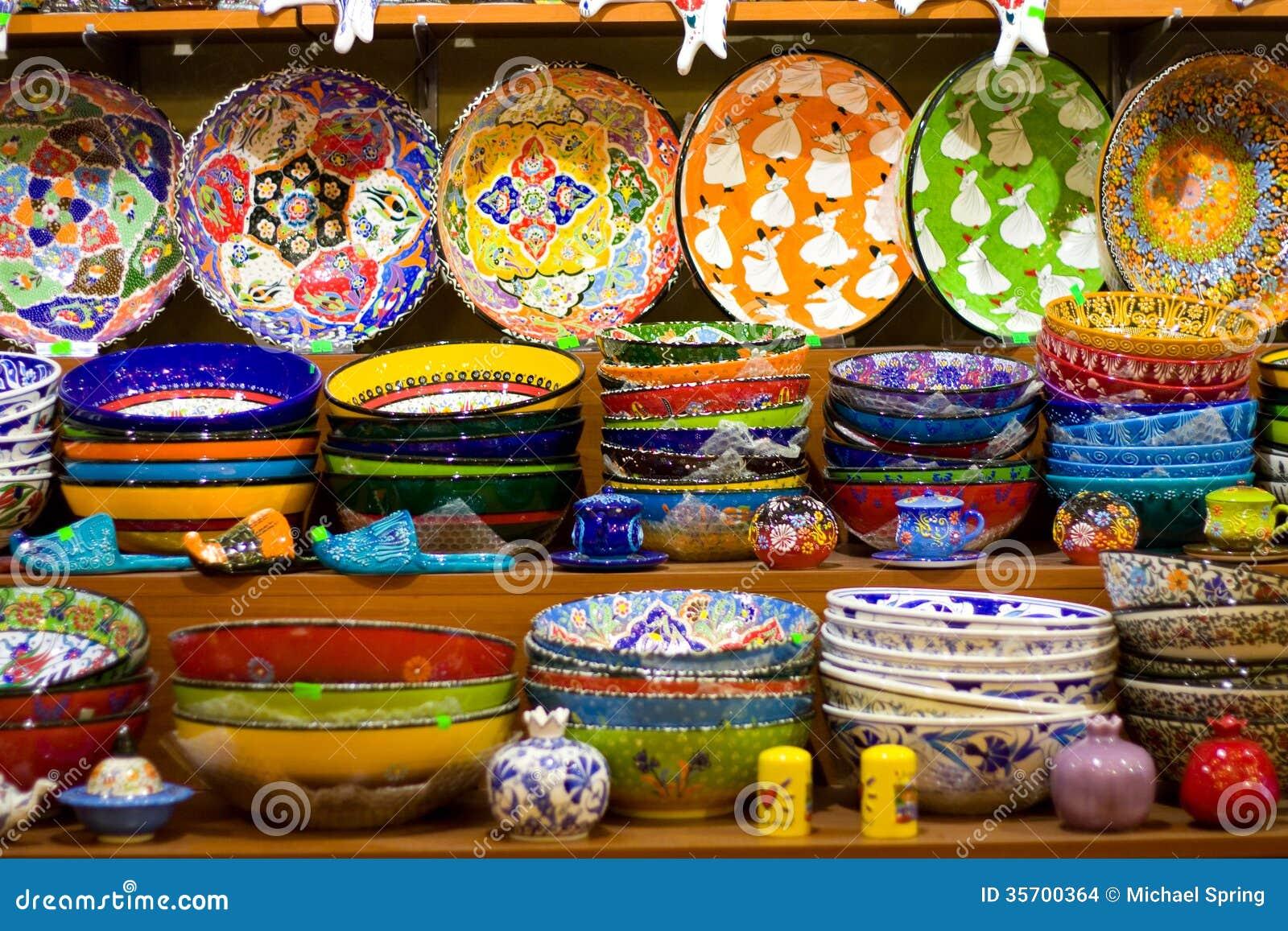 Turkish Crafts Stock Images Image 35700364
