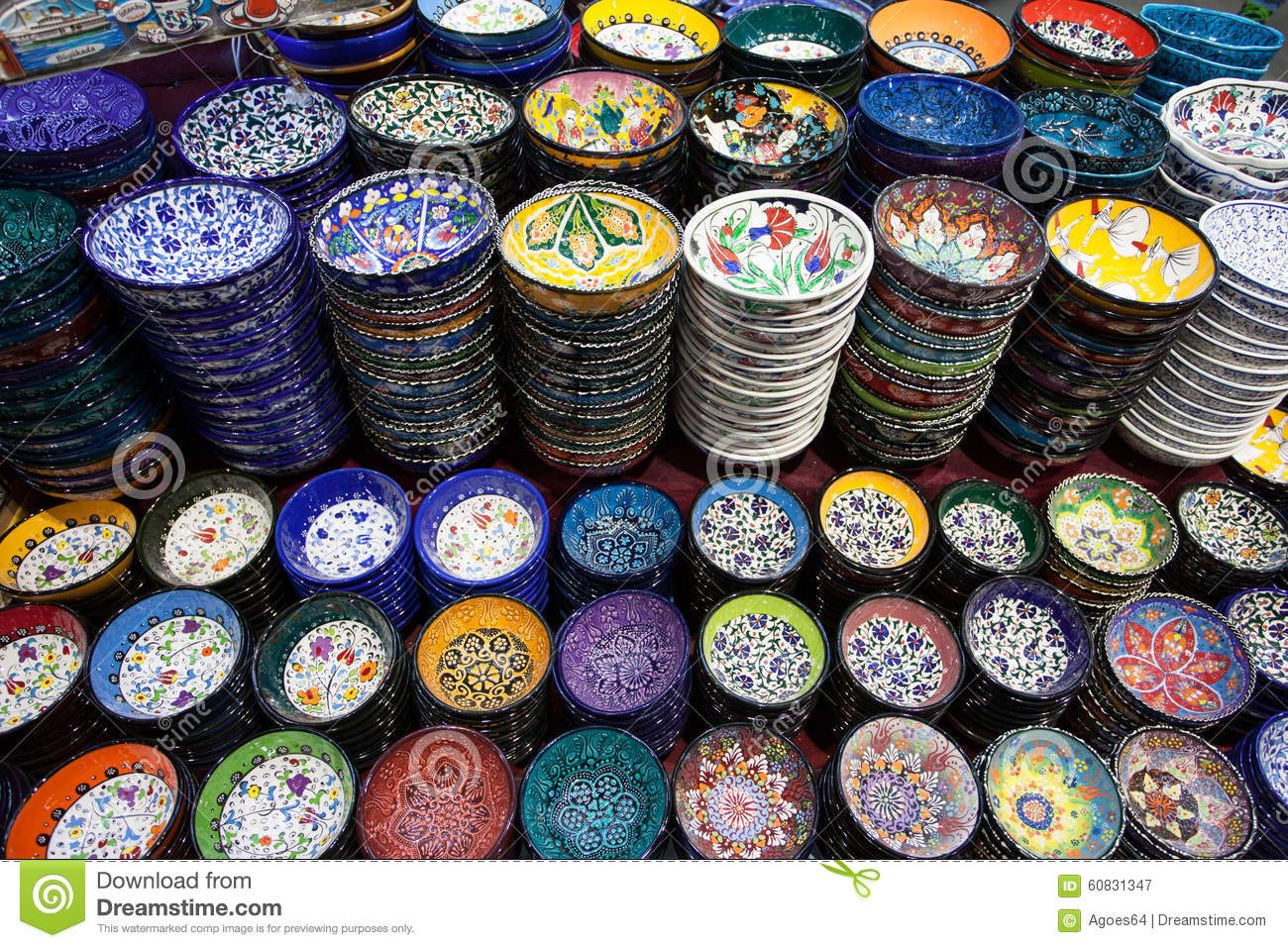 TURKISH DECORATIVE PLATES AND BOWLS : decorative plates and bowls - pezcame.com