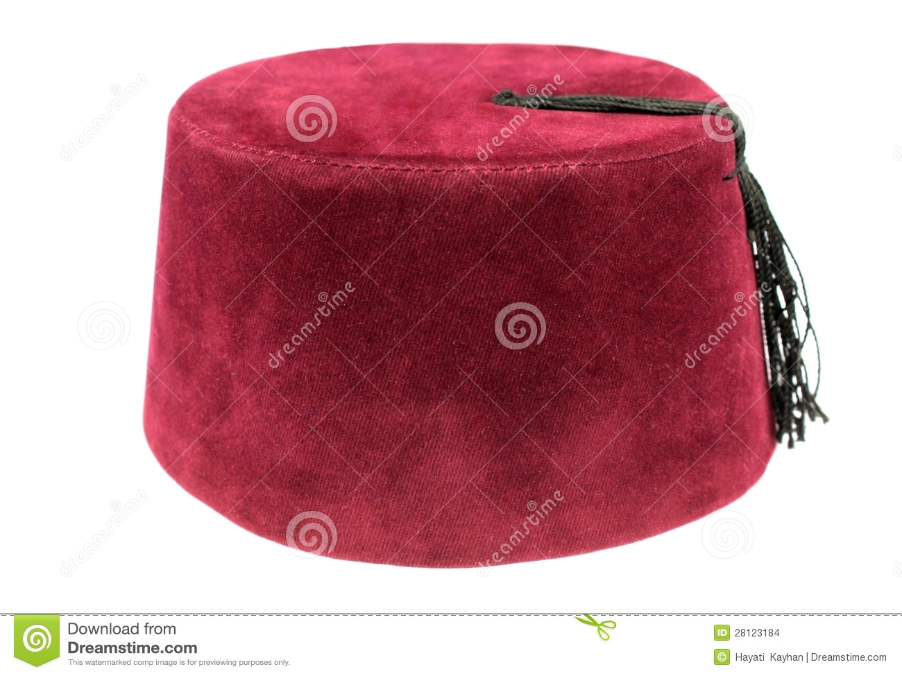 Turkish Fez Traditional Ottoman Hat Stock Images Image