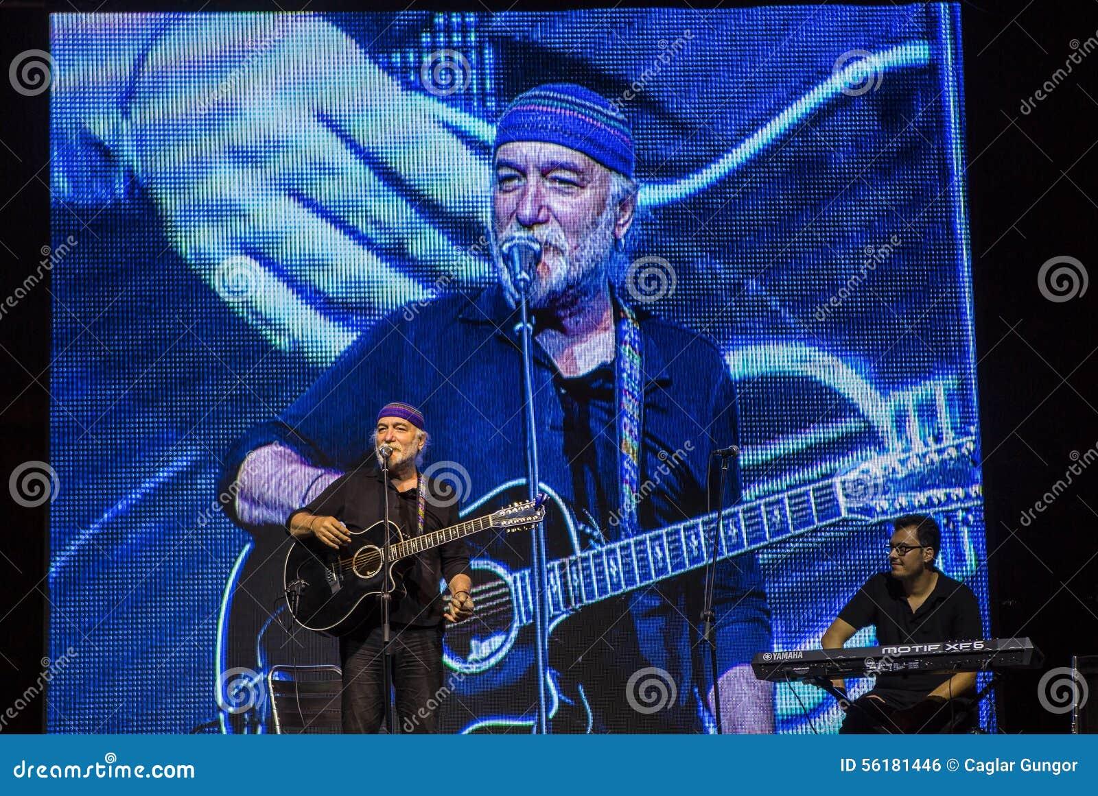 turkish folk singer fuat saka editorial photo image of scene turkish 56181446