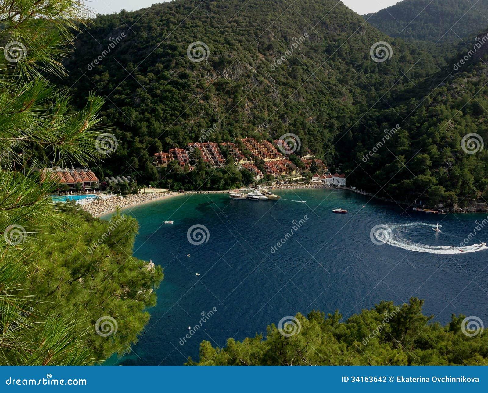 A turkish hotel stock photo  Image of resort, beach, service - 34163642