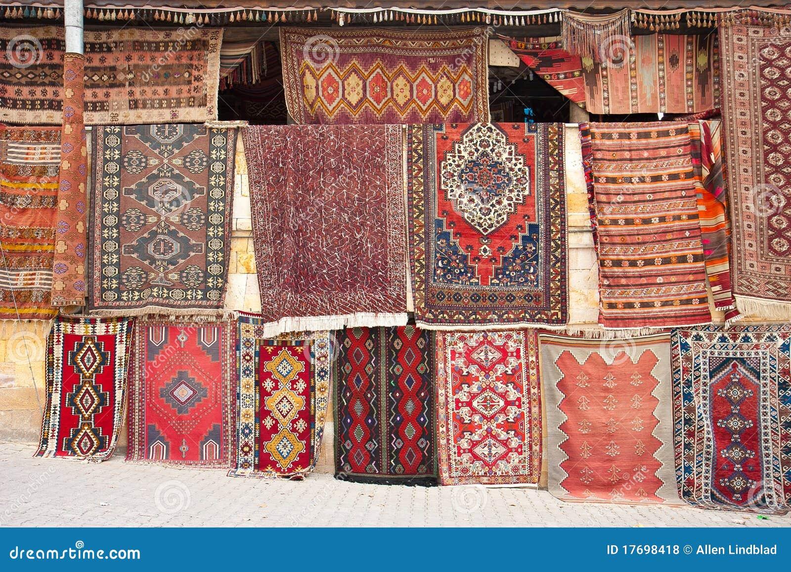 Hanging Rugs Turkish Rugs Royalty Free Stock Photos Image 17698418
