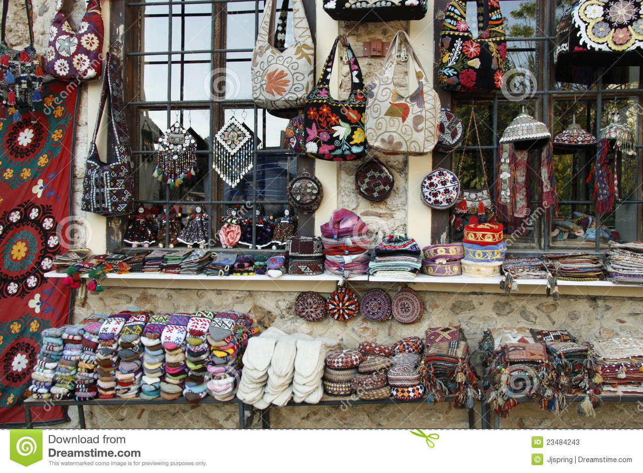 Turkish Souvenirs Stock Image Image Of Handmade
