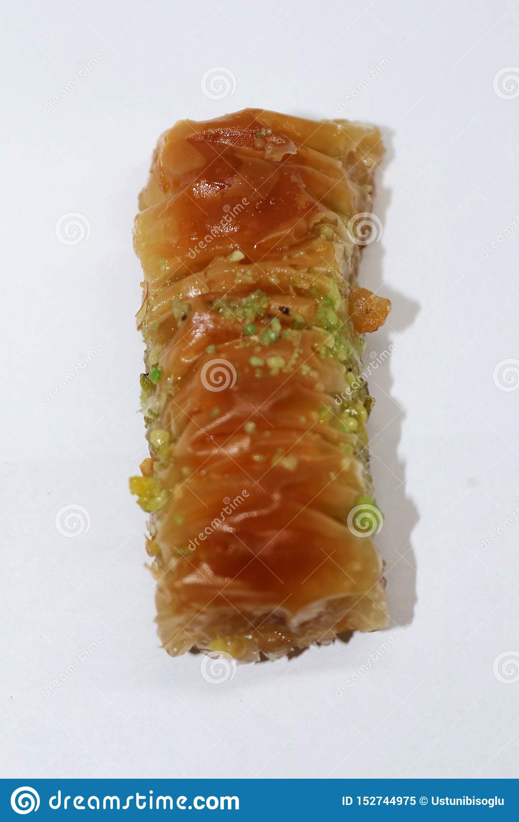 Delicious turkish style Antep baklava.