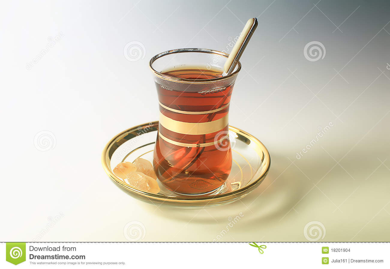 Turkish Tea Cup Stock Images - Image: 18201904