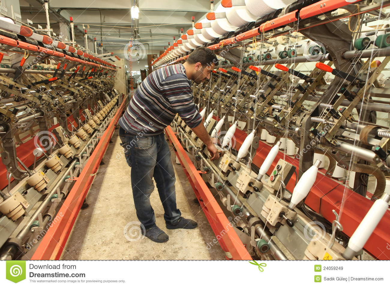 Turkish Textile Factory Editorial Stock Image Image