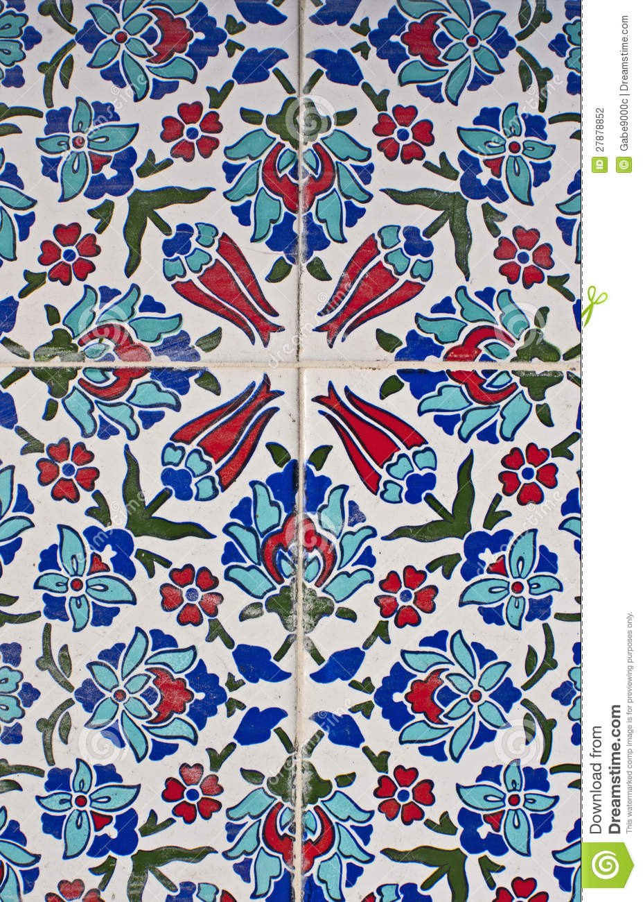 Turkish Tile Pattern Stock Photo Image Of Mosque