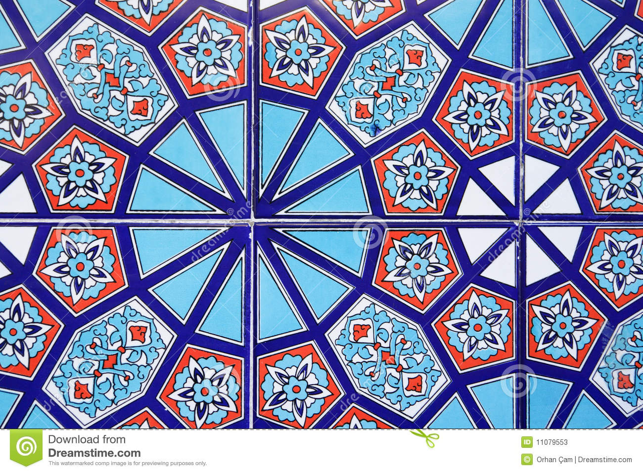 Turkish tiles stock image Image of ottoman architectural 11079553