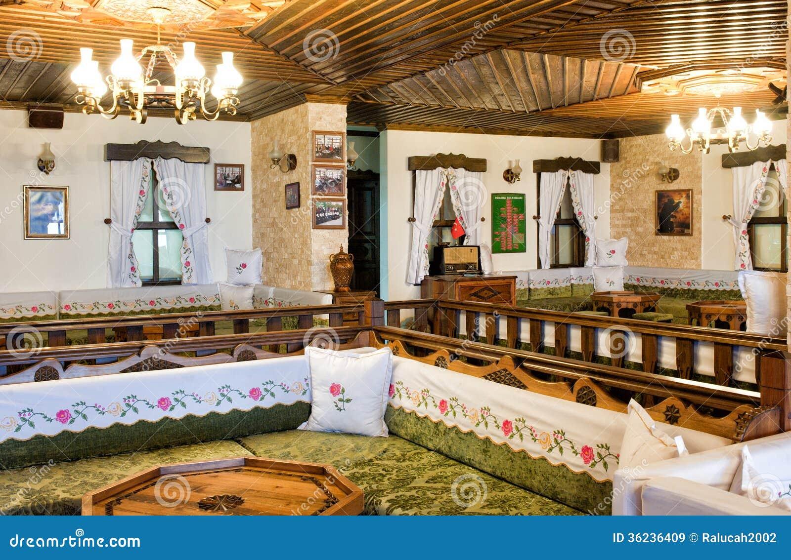Turkish Traditional Interior Design Bursa Turkey Editorial