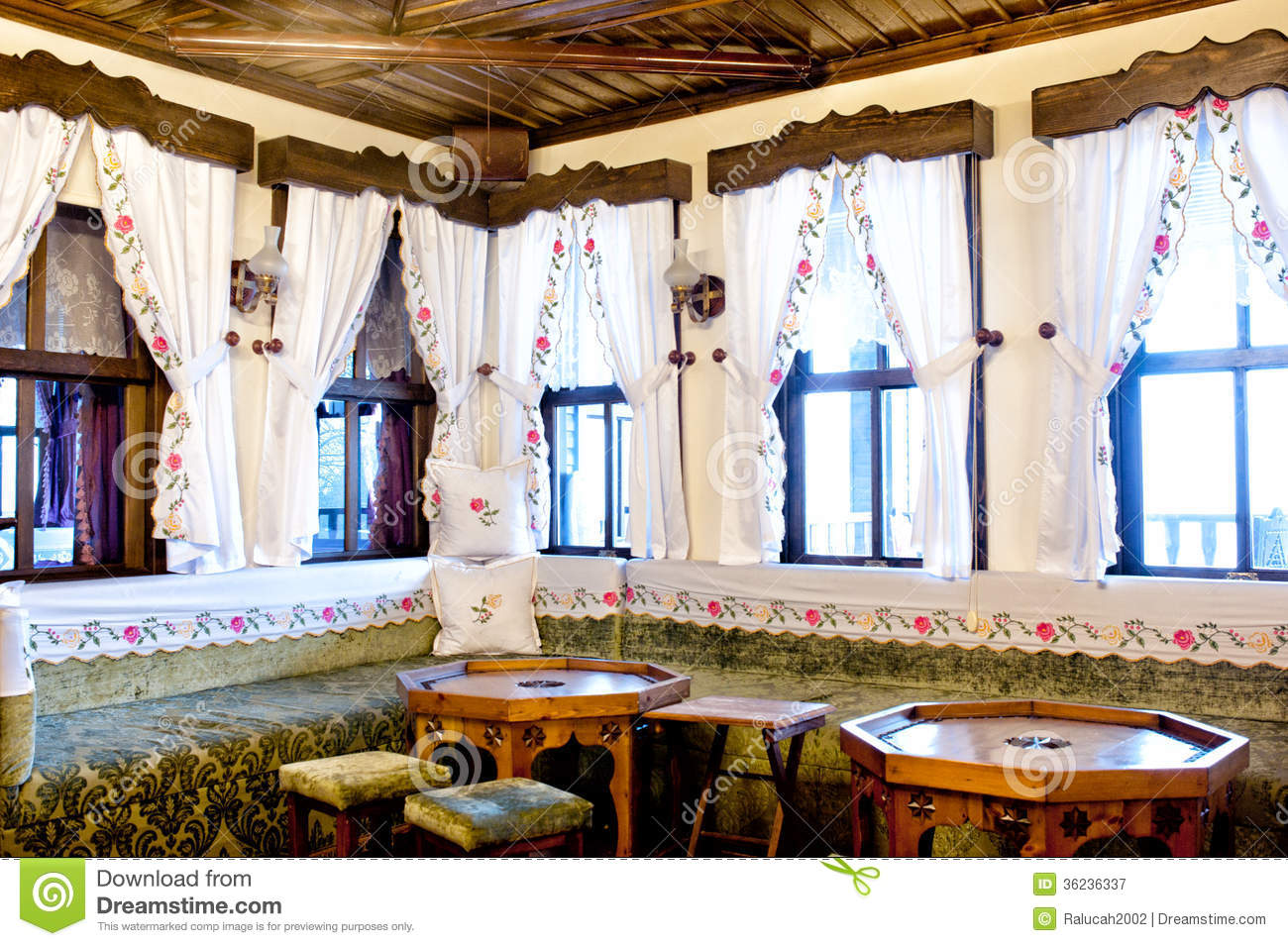 Turkish Traditional Interior Design Bursa Turkey Editorial Photography Image 36236337