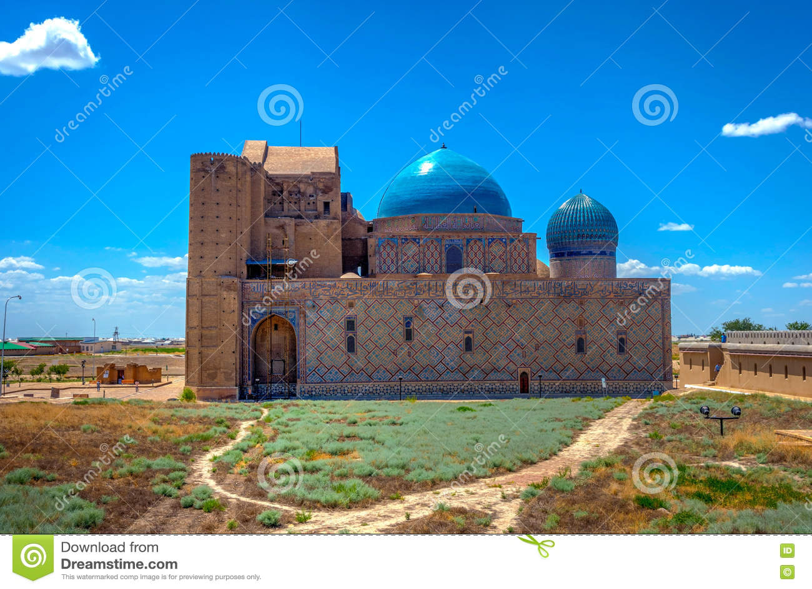 Turkistan陵墓,哈萨克斯坦