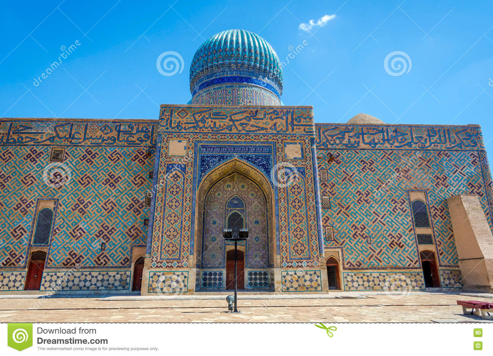 Turkistan-Mausoleum, Kasachstan