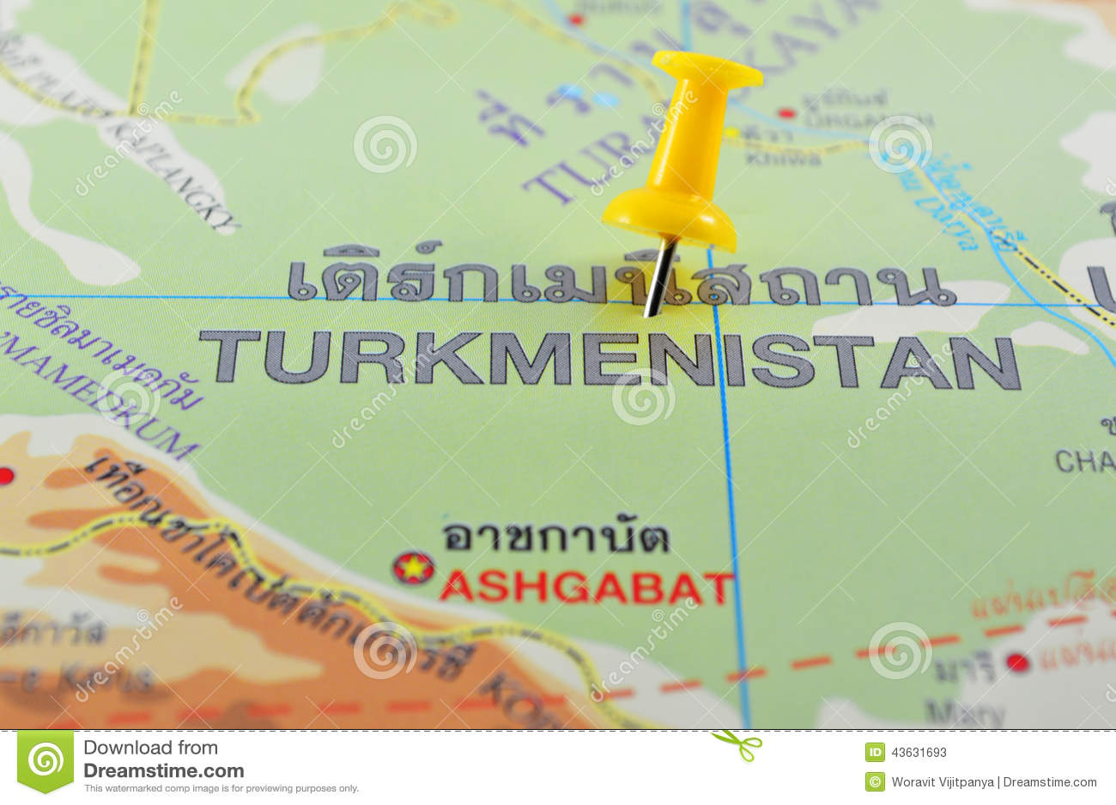 Turkmenistan översikt