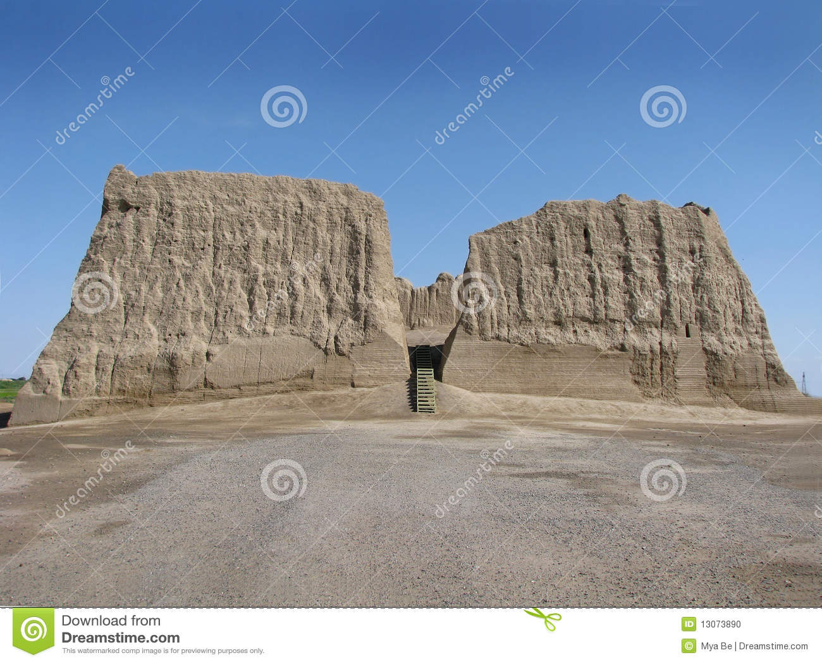 Turkmenistan - Merv, große Kyz Kala Festung