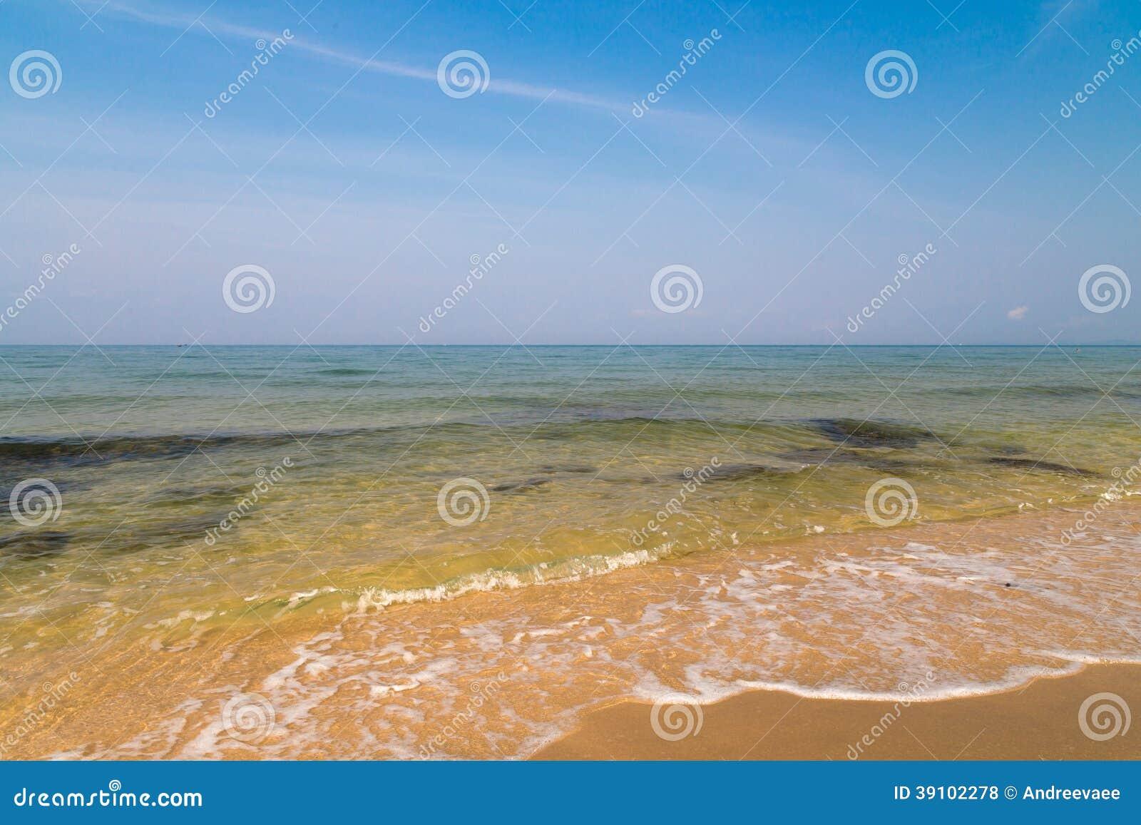 Turkoois zeewater