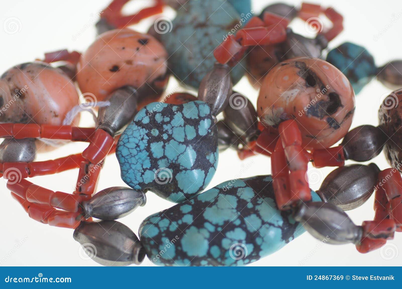 Turkos för korallhalsbandsilver