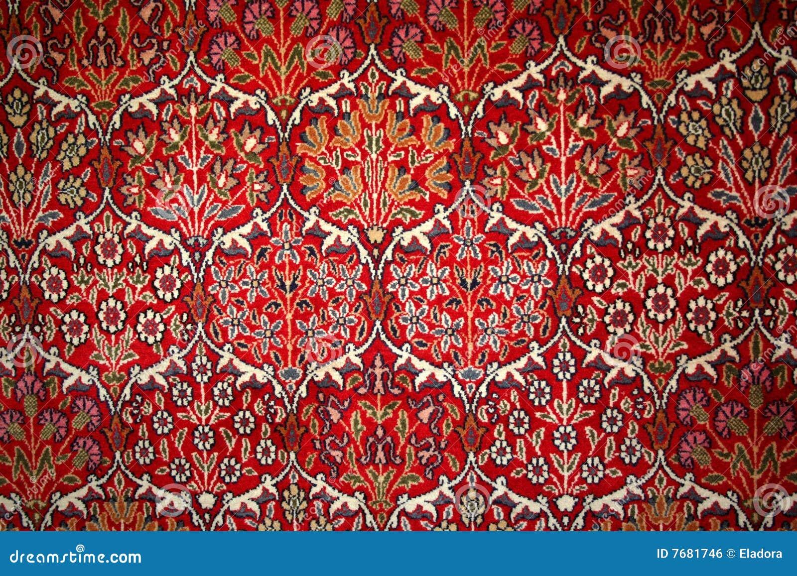 Turks Tapijt Met Patroon Stock Foto Afbeelding Bestaande