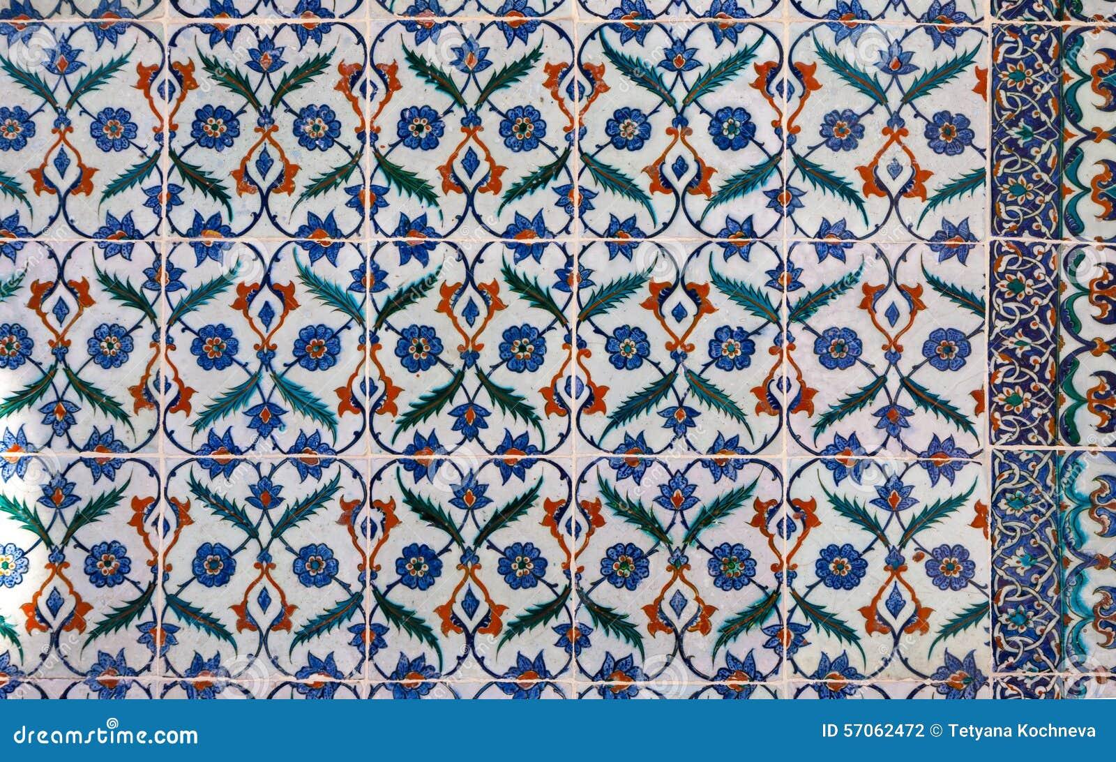 Tegels Met Motief : Turkse keramische tegels stock foto. afbeelding bestaande uit moskee