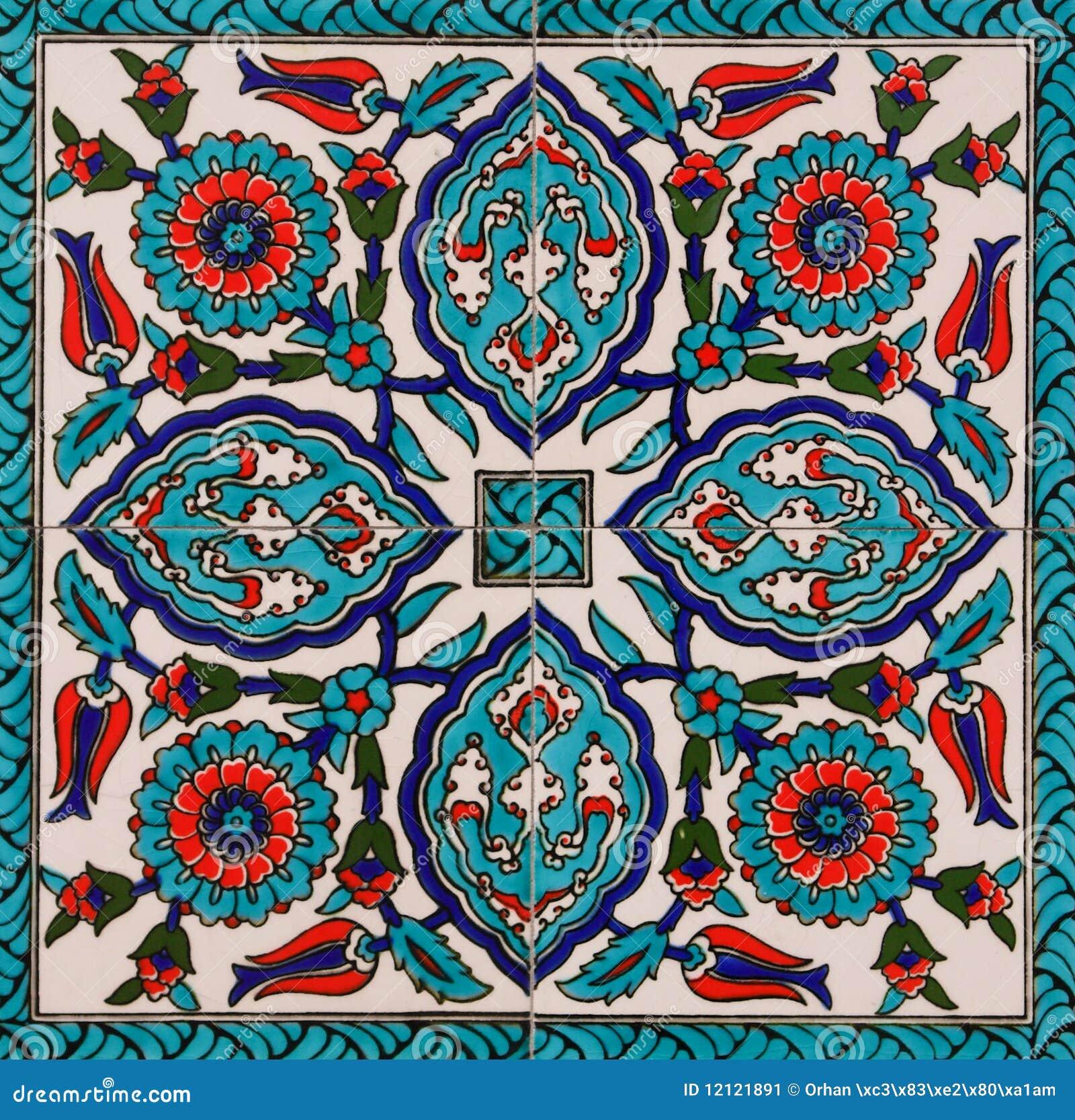 Turkse Tegels Stock Afbeelding   Beeld  12121891