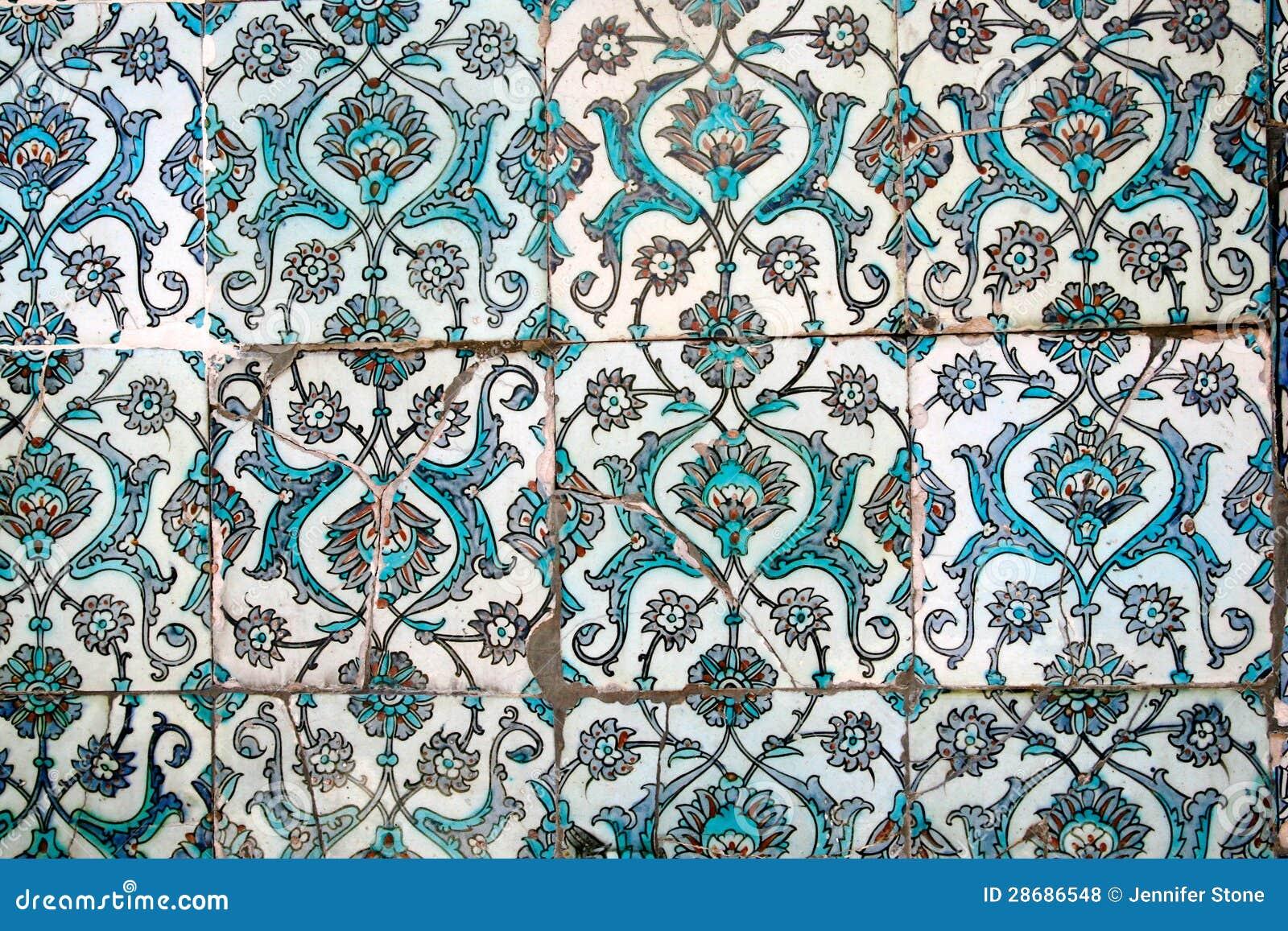 Turkse Tegels Royalty vrije Stock Foto u0026#39;s   Afbeelding  28686548