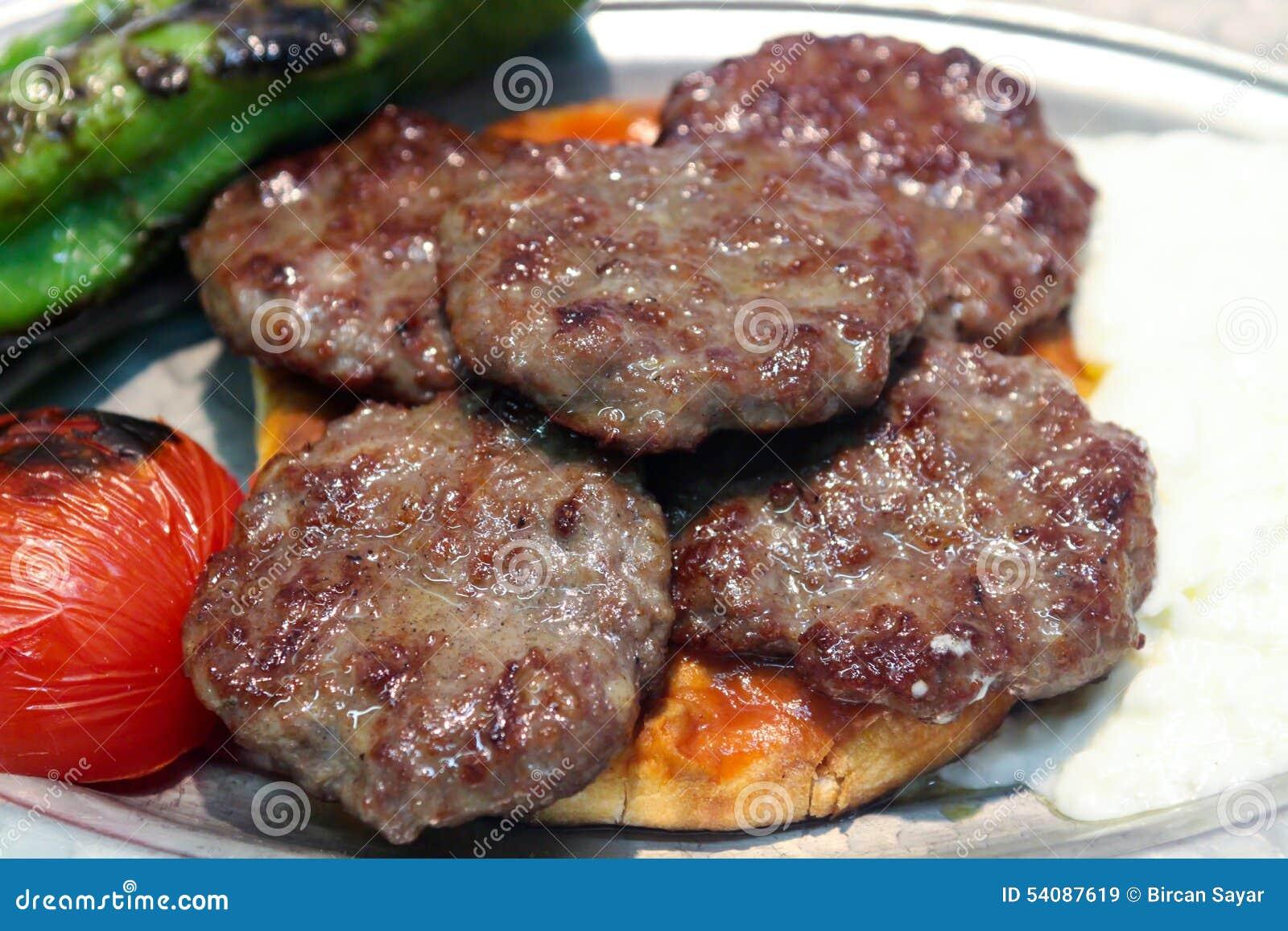 Turkse vleesballetjes