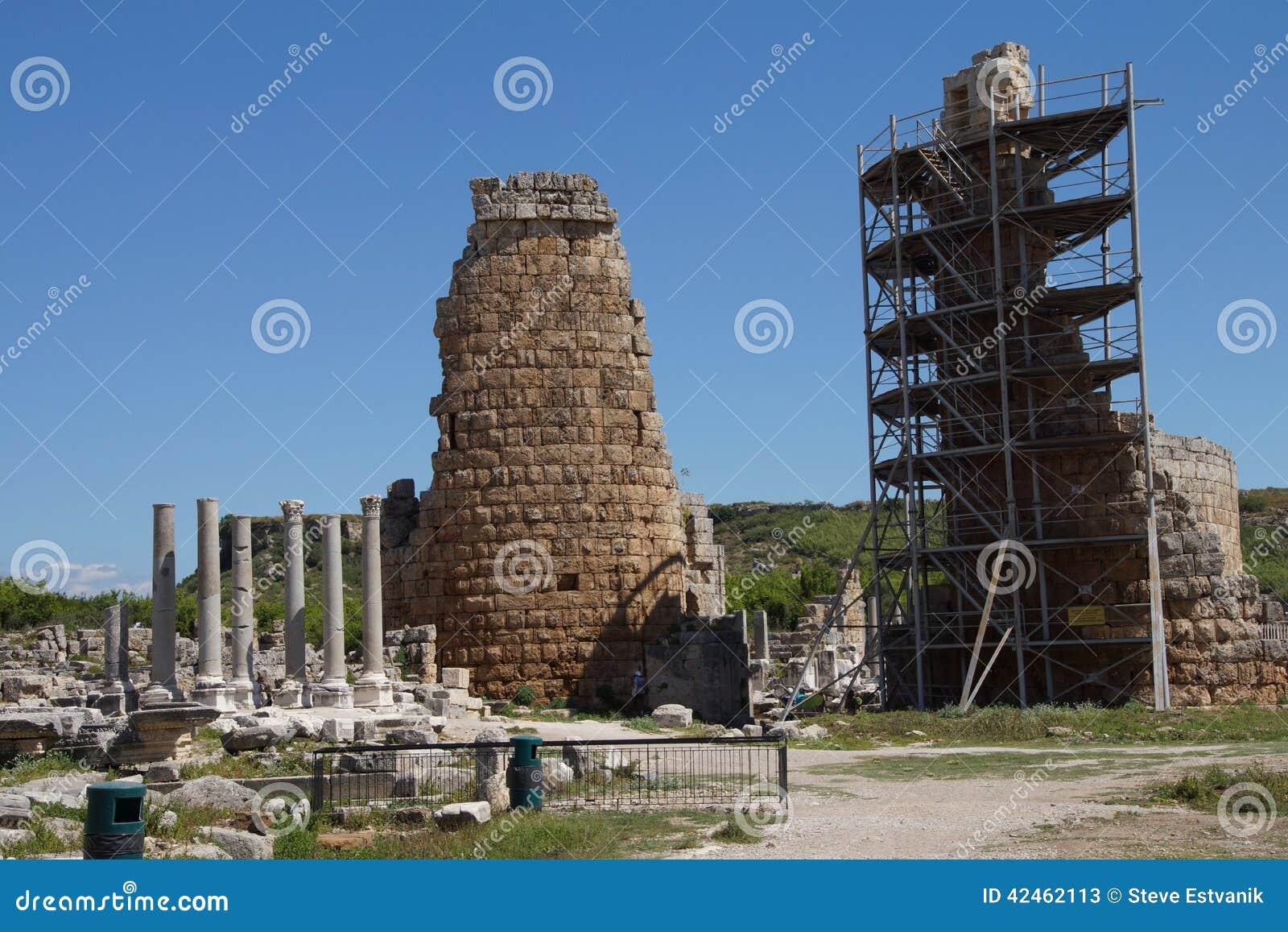 Turm des Hellenistic Tors