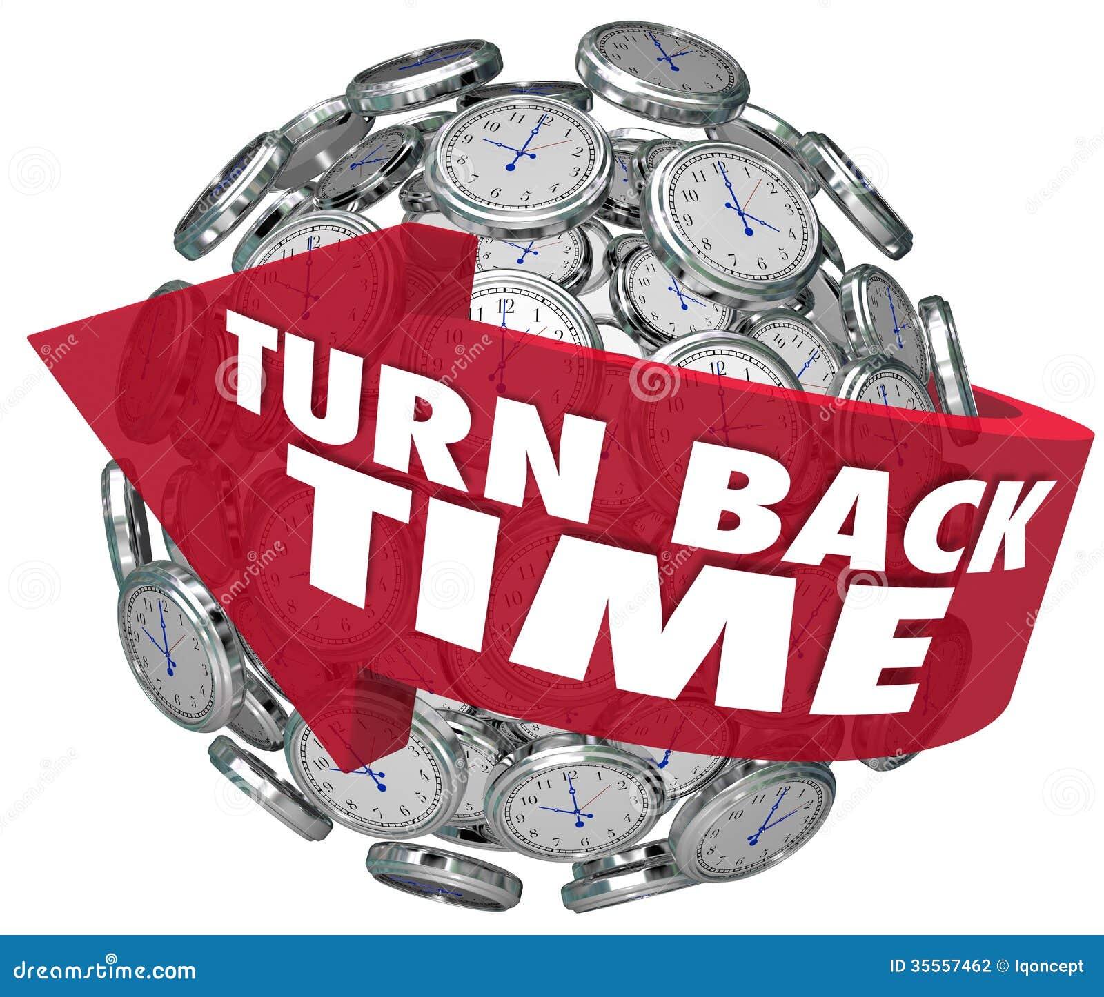 Turn Back Clock Stock Illustrations 293 Turn Back Clock Stock Illustrations Vectors Clipart Dreamstime
