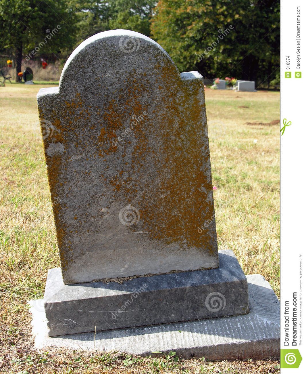 Turn of the Century Tombstone