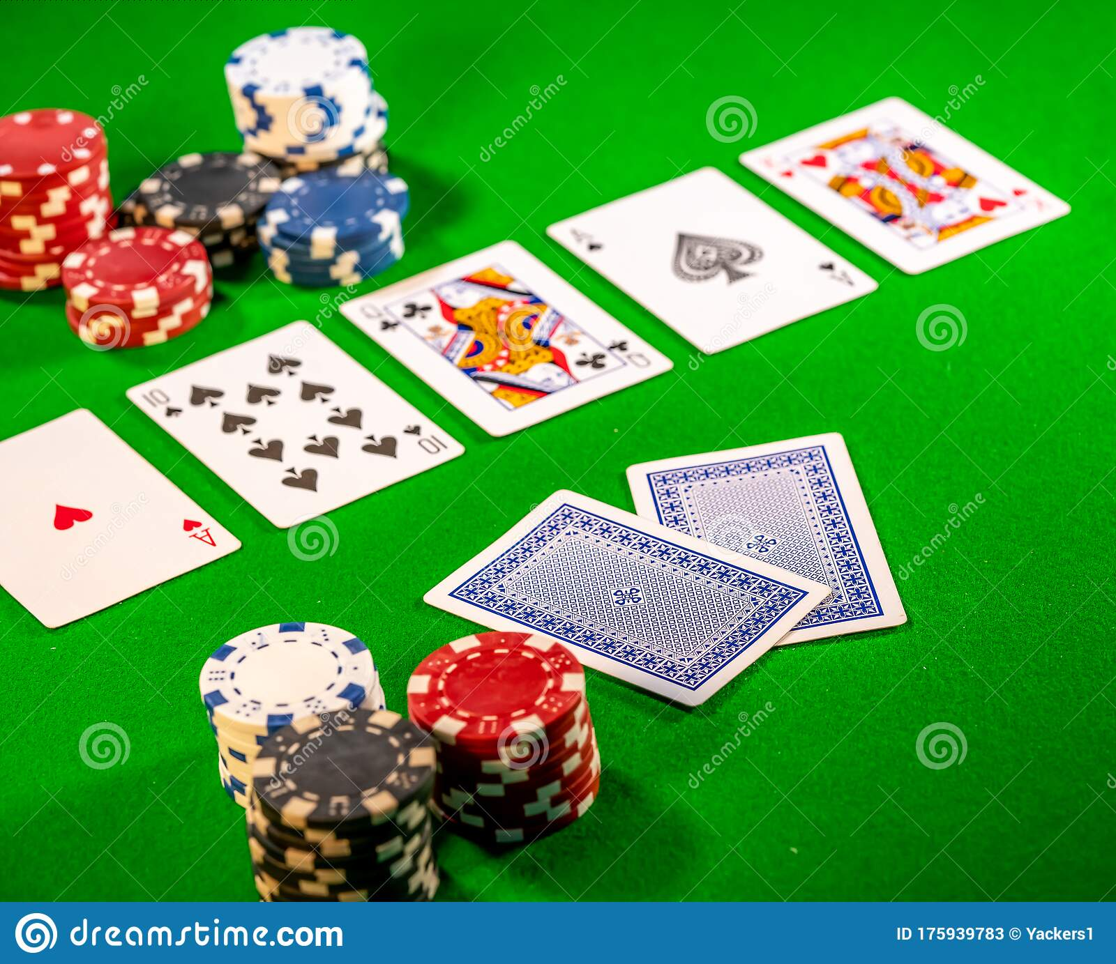 The Turn Also Known As Fourth Street In A Game Of Poker Editorial Stock Photo Image Of Chip Hand 175939783