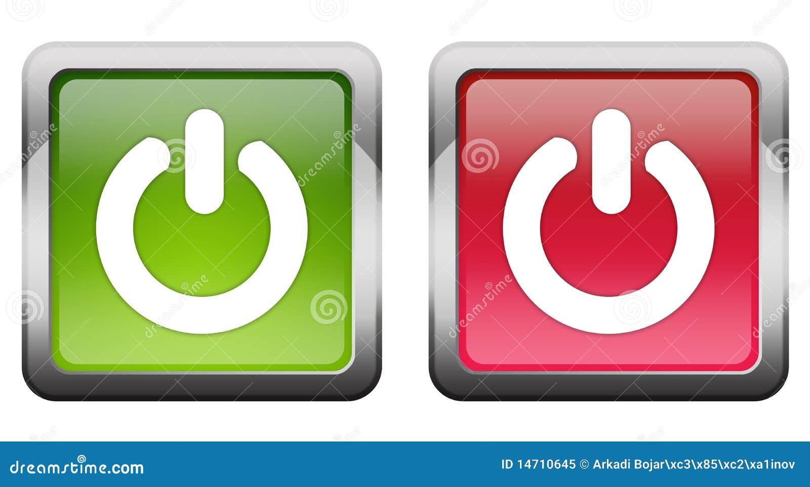 turn on off button illustration 14710645 megapixl