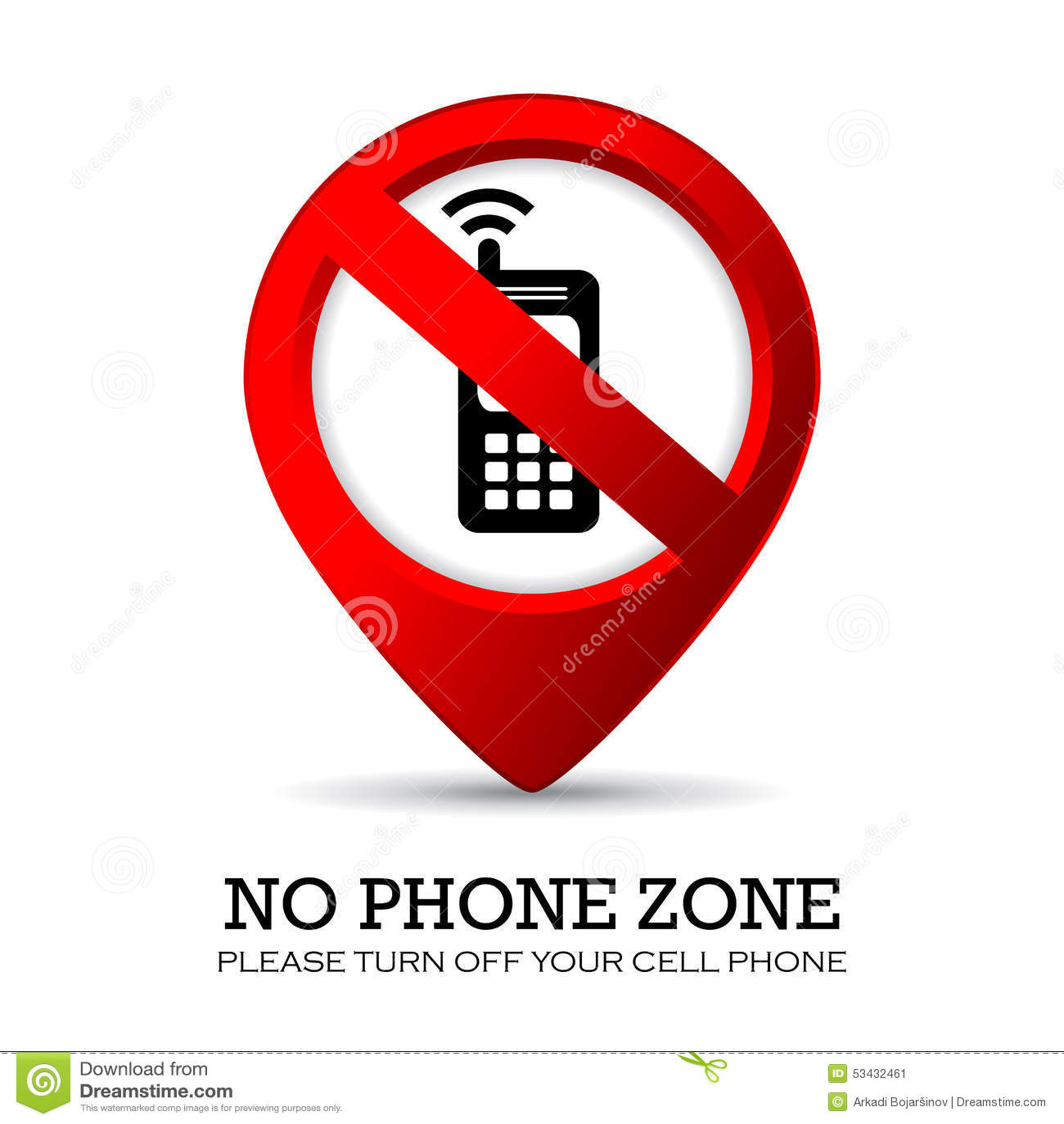off phones
