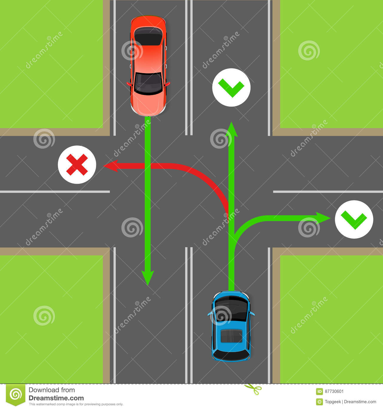 Intersection Wiring Diagram Trusted Diagrams Sample Of A Four Way Diy Enthusiasts Vehicle Accident Templates