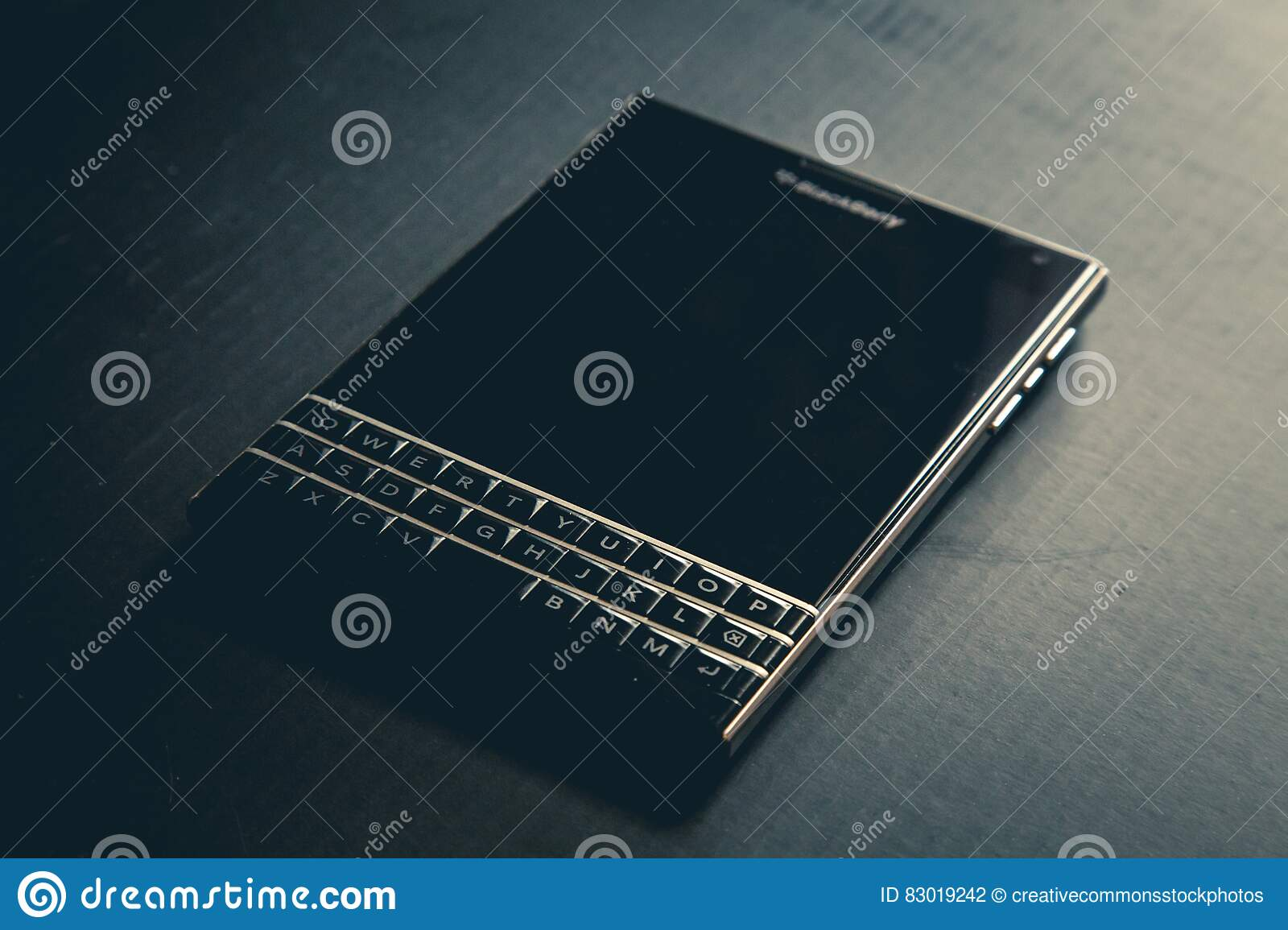 Download Turned Off Blackberry Qwerty Phone Stock Photo - Image of blackberry, free: 83019242