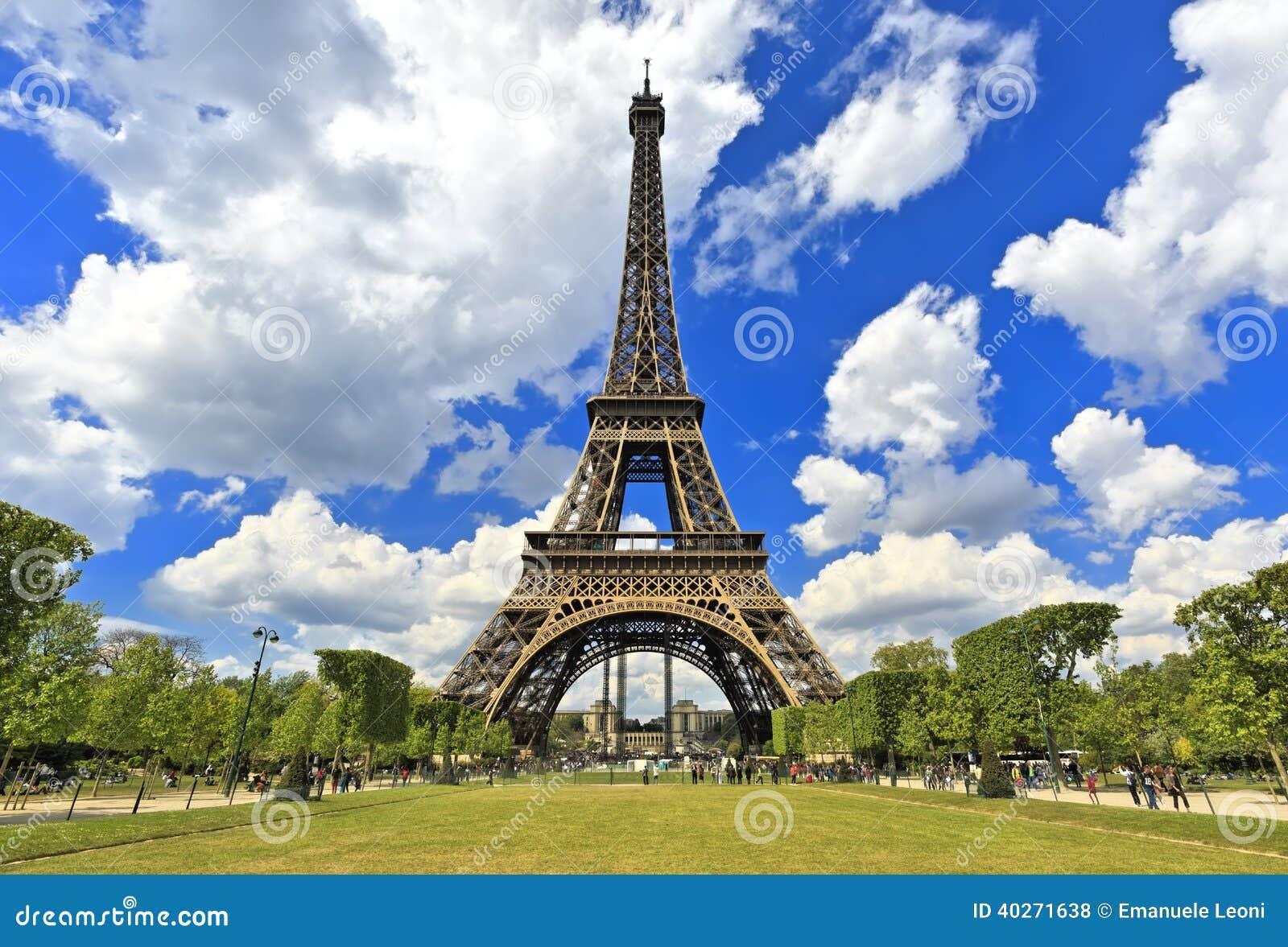 Turnera Eiffel, Paris bästa destinationer i Europa