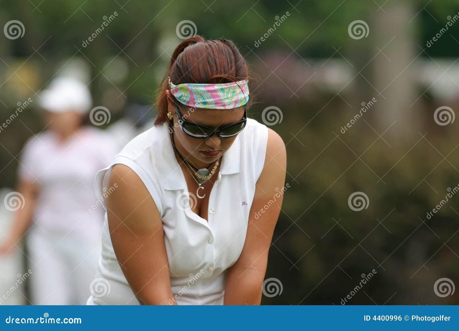 Turnerar den christina golfkim lpgaen 2006 stockbridge