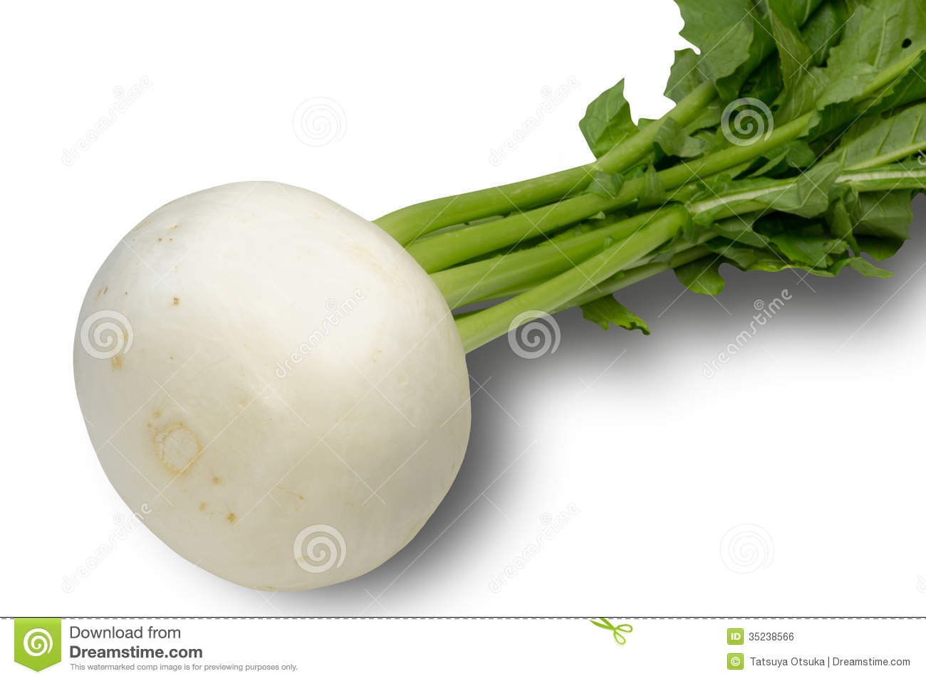 how to cut a turnip