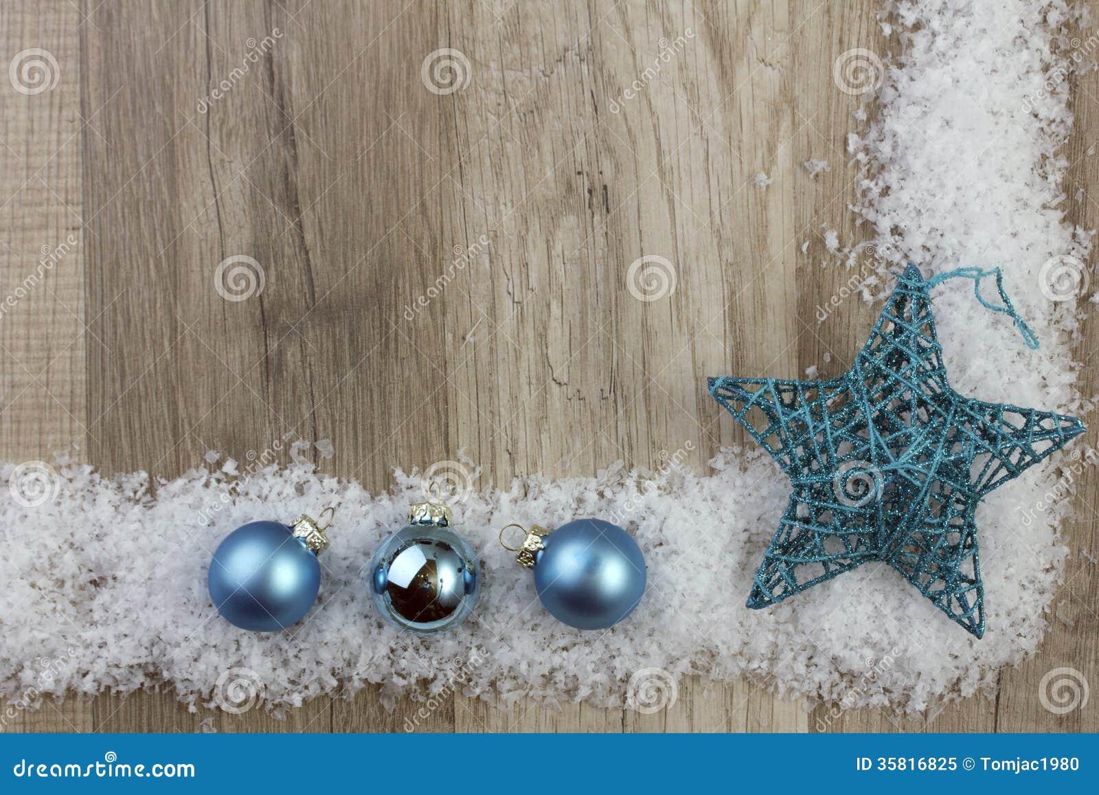 Turquesa del ornamento de la Navidad