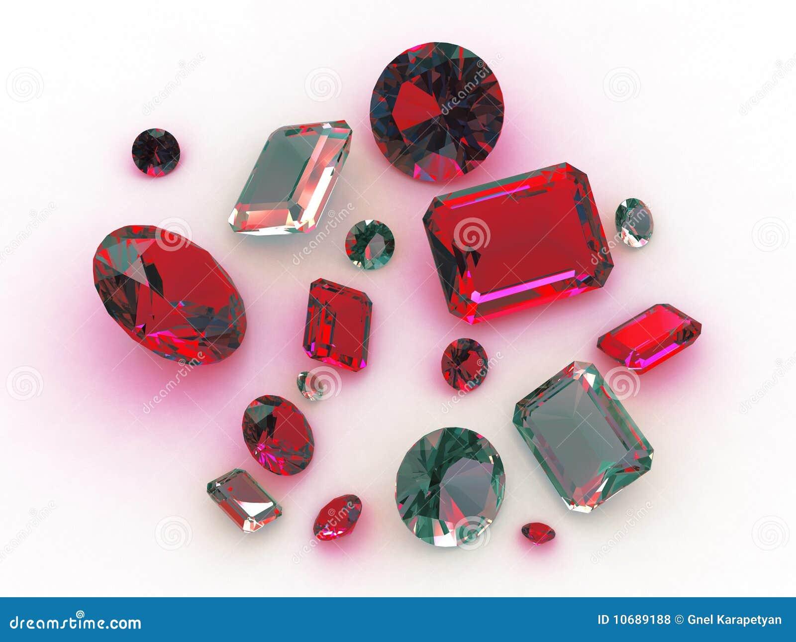 Turquesa hermosa determinada y piedras preciosas rojas for Piedra preciosa turquesa