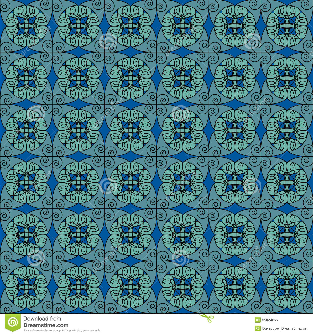 Turquoise antique pattern royalty free stock image image for Old french wallpaper
