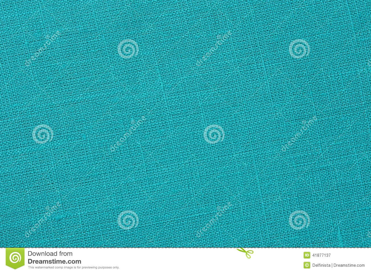Turquoise Backround Linen Canvas Stock Photo Stock