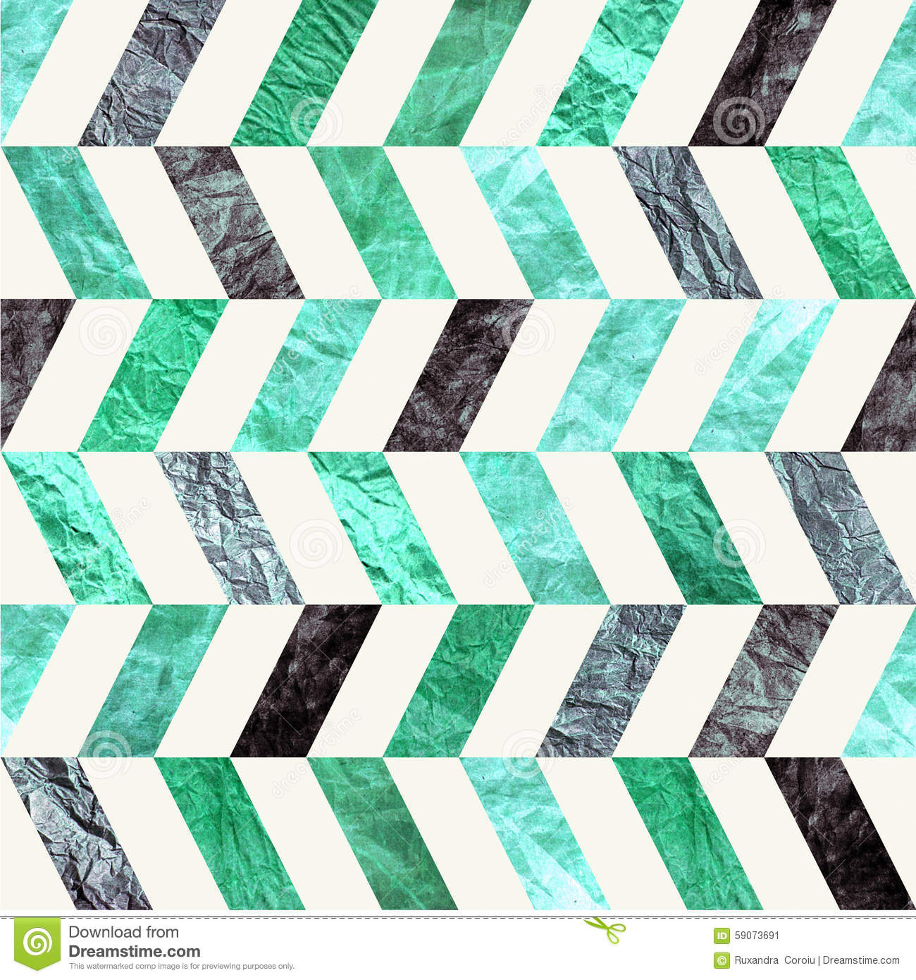 turquoise chevron zig zag vintage paper seamless tileable pattern old retro blue and green. Black Bedroom Furniture Sets. Home Design Ideas