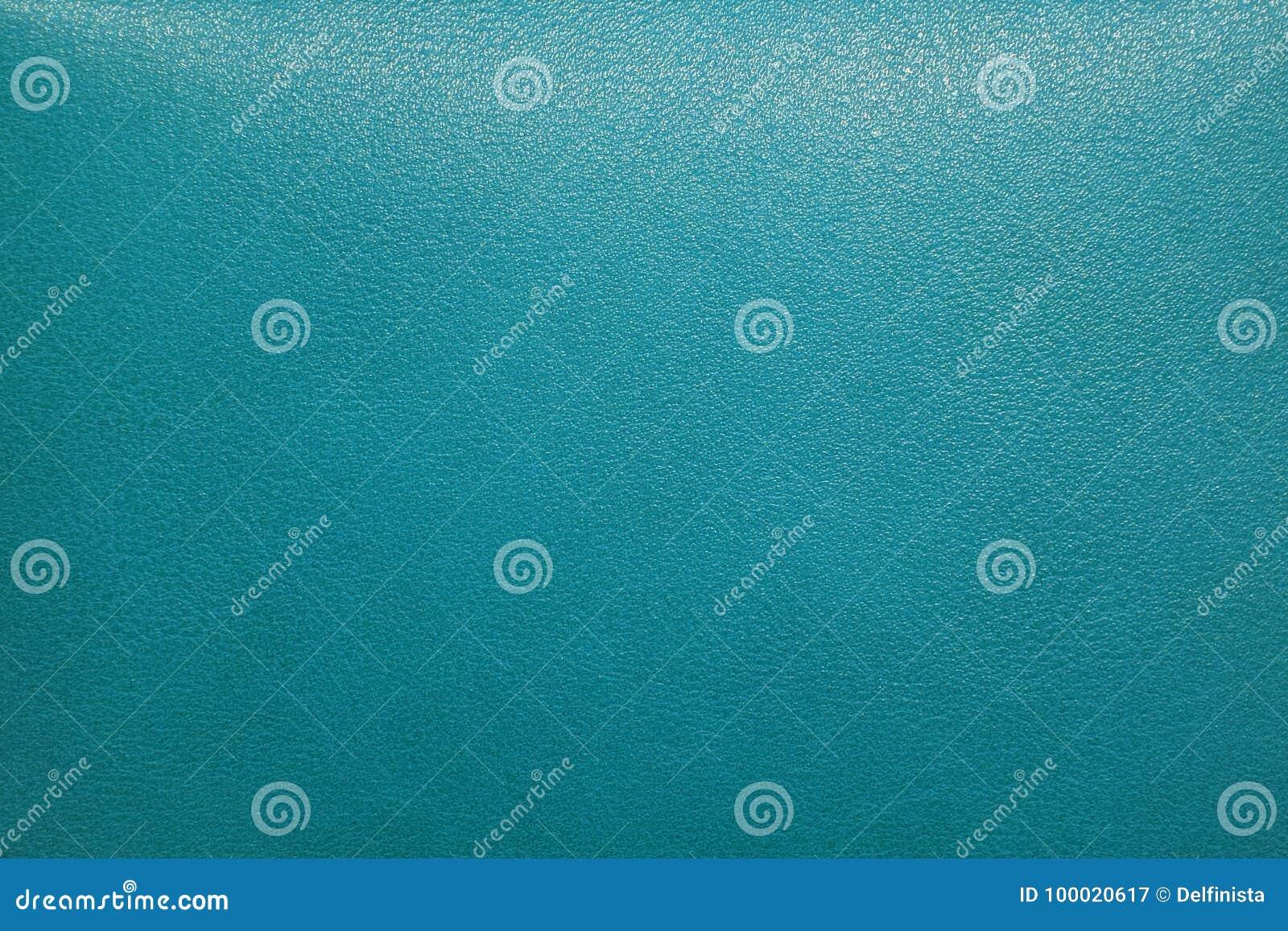 Turquoise Leather Background - Stock Photos