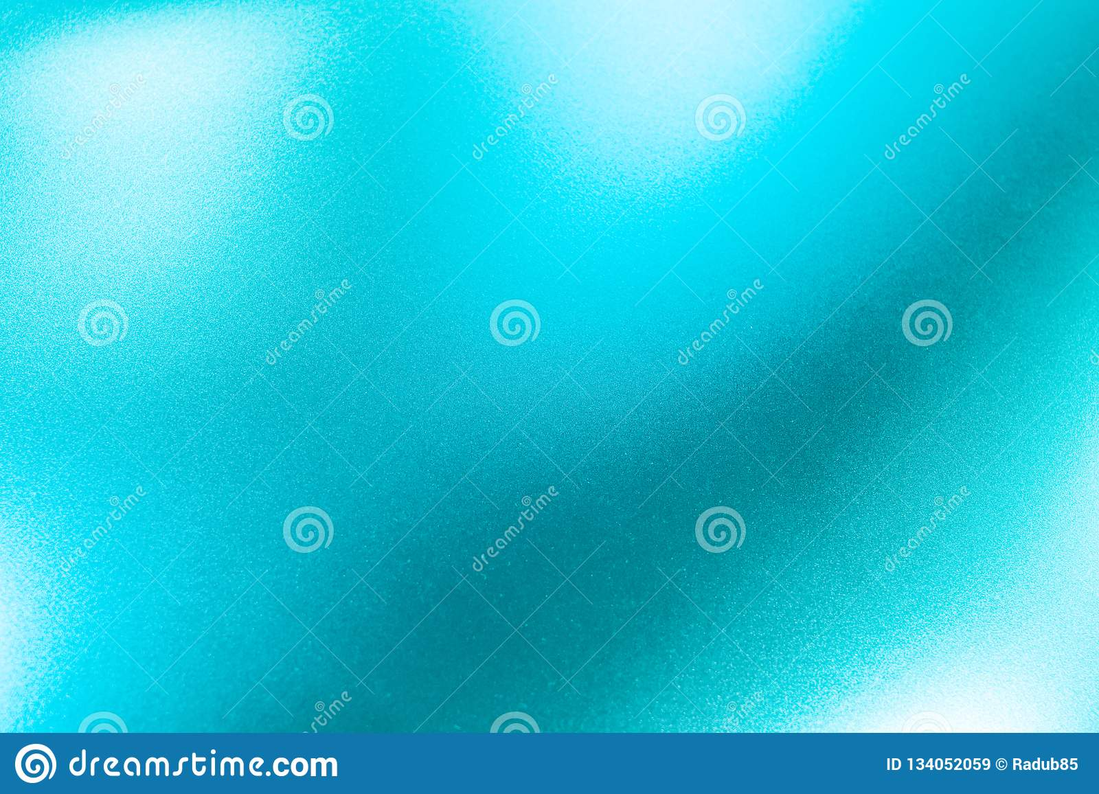 Turquoise Metal Texture Background