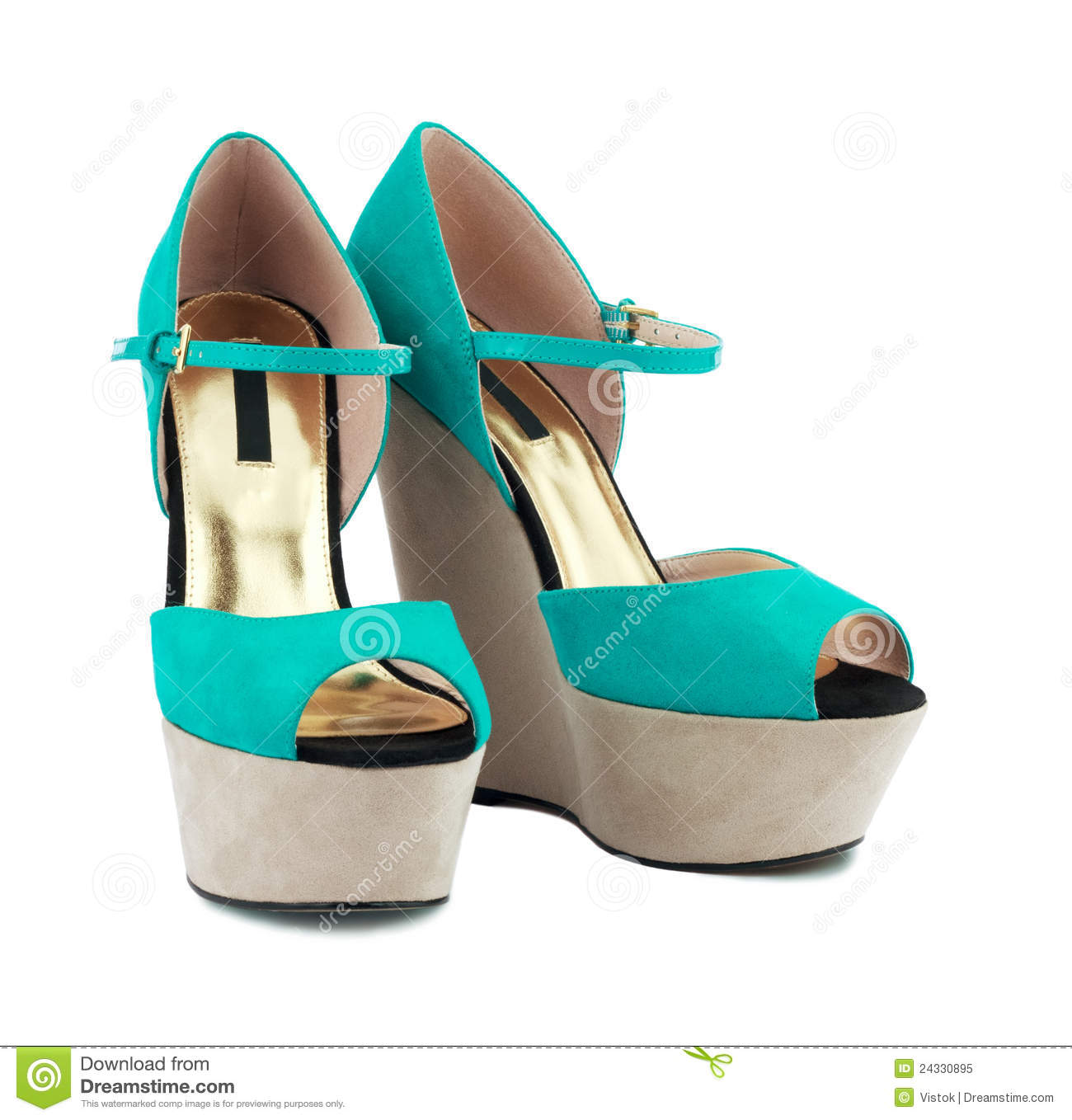 Turquoise Shoes | Dress Images