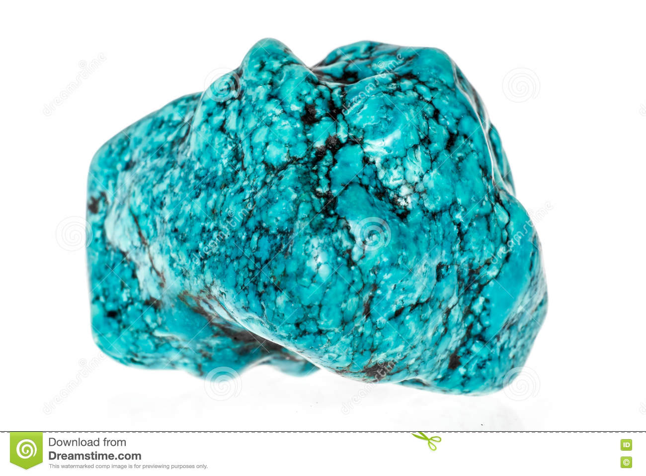 turquoise stone stock photo