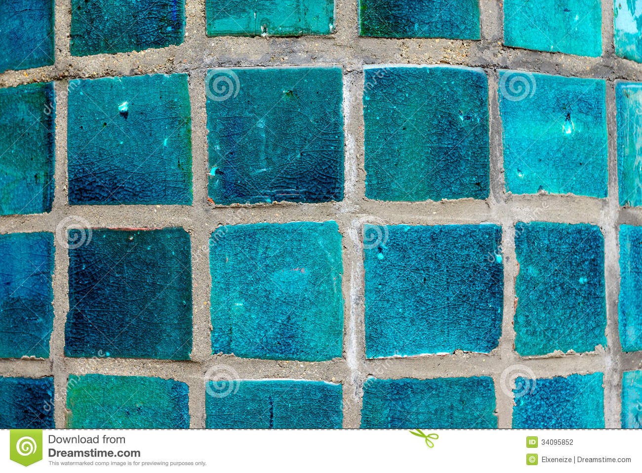 Turquoise Tile turquoise tiles stock photography - image: 34095852