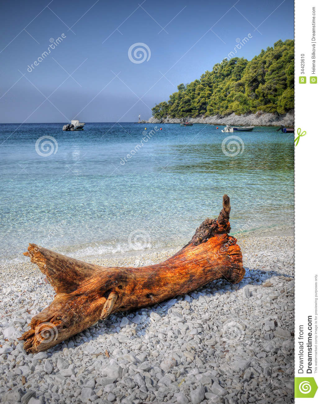 Turquoise Water Beach Vacation Swimming Stock Photo